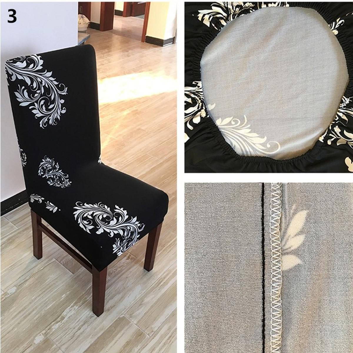 Buy 1 4pcs Seat Cover Kitchen Dining Bar Chair Covers Slipcovers Wedding Party Decor Online At Low Price In India Snapdeal