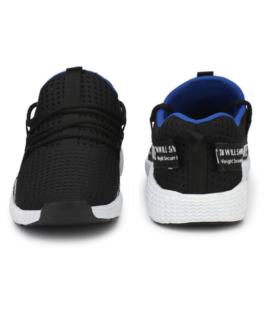 Afrojack Sneakers Black Casual Shoes