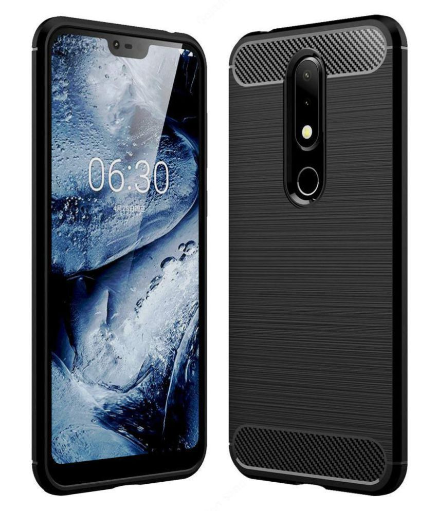 Nokia 7.1 Hybrid Covers TAG - Black