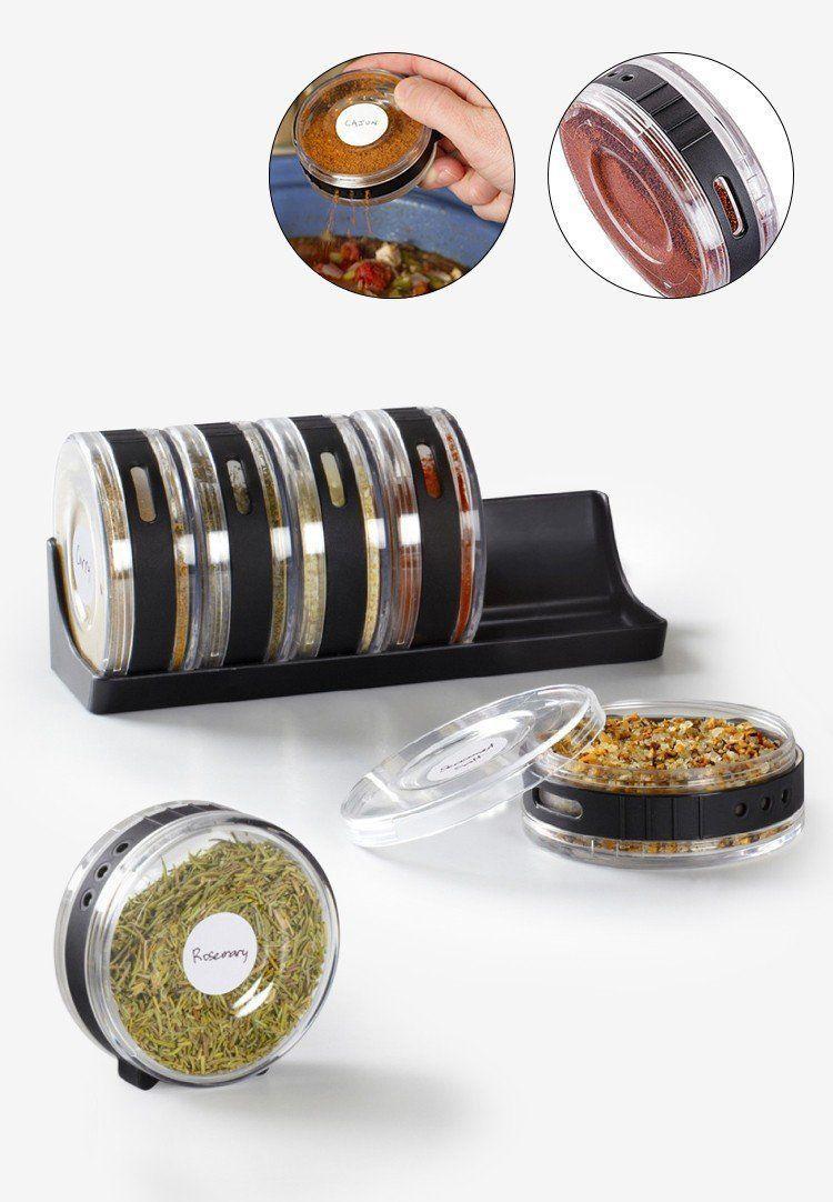 Mehak Ent Plastic Spice Rack Black - Pack of 1