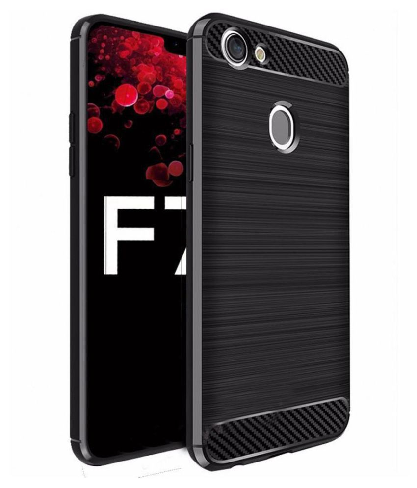 Oppo F7 Hybrid Covers TAG - Black