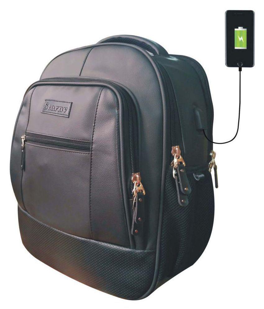 STAR NV BAGS Star Black Backpack