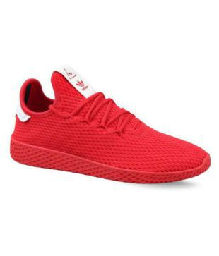 adidas shoes in red colour