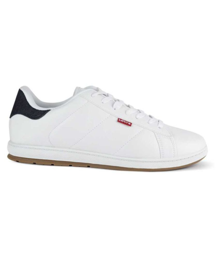 Levis Sneakers White Casual Shoes - Buy