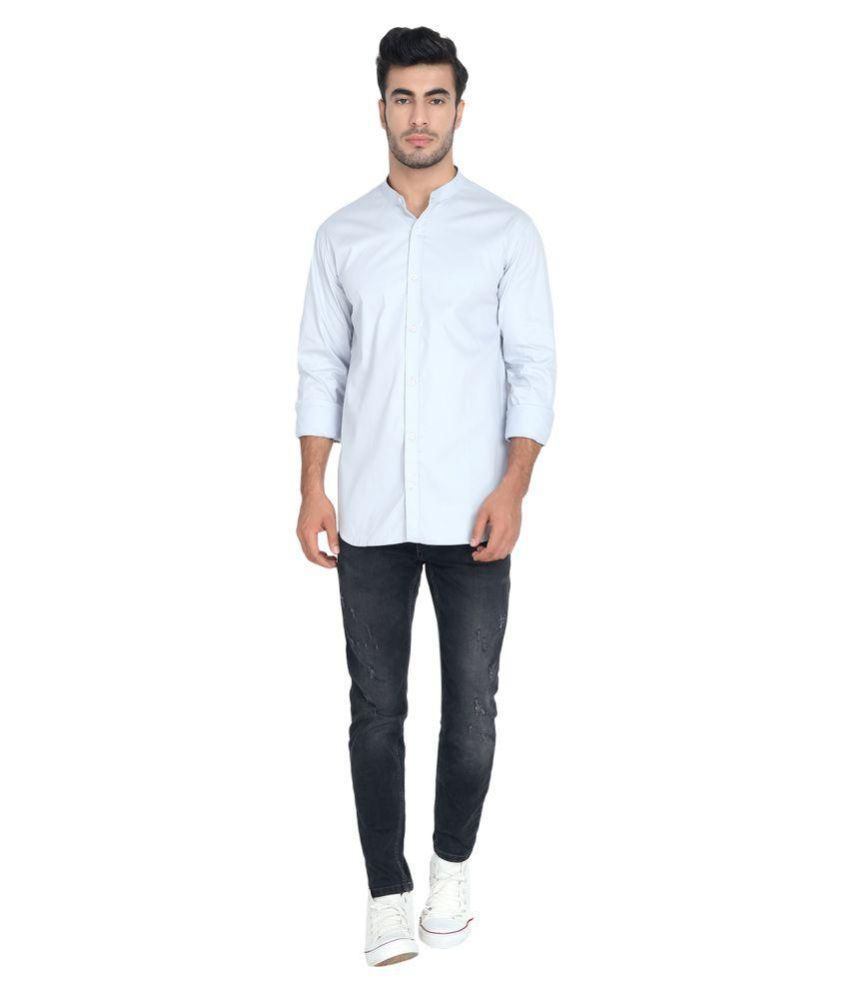 JOHN & JACKSON Cotton Blend Shirt
