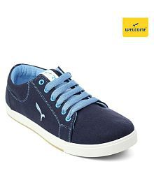 Welcome Navy Casual Shoes