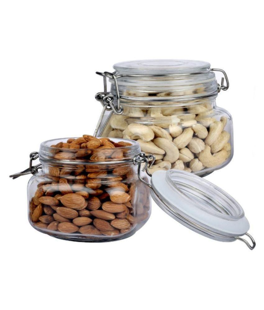 Protetto Pro-00419 Glass Food Container Set of 2 500 ml