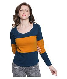 ab9b7526951b9 Women s Tees   Polos  Buy T-shirts for Women Online at Best Prices ...