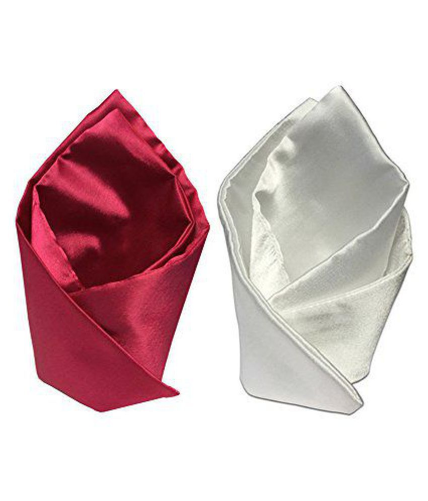 Combo of To The Nines Men's Pocket Square