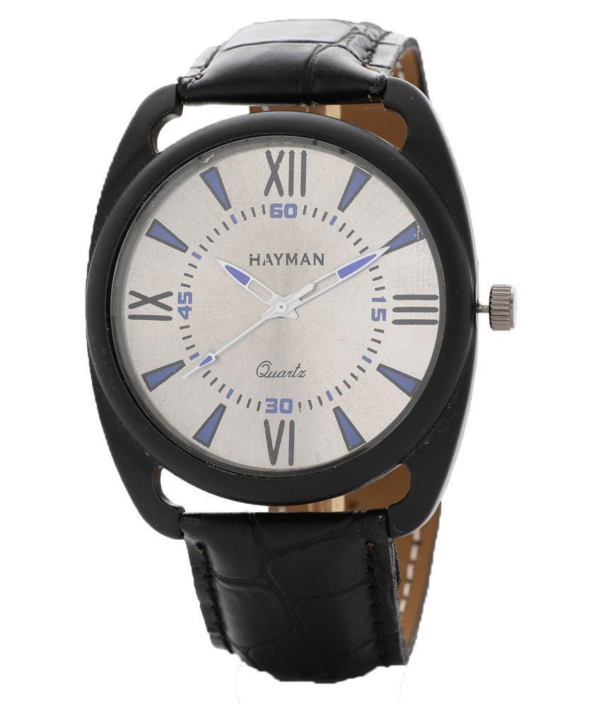Hayman Analog white Dial Boys Watch  W 42