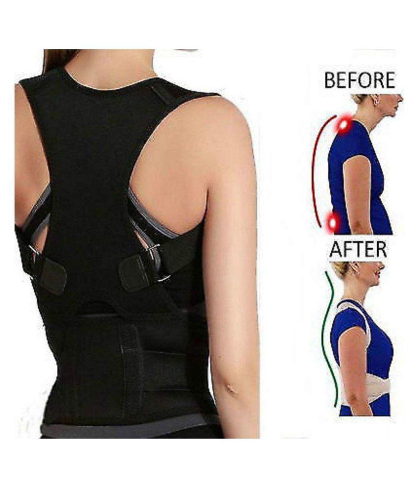 SELVA FRONT Posture Spine Magnetic Lumbar Correction Belt XXL