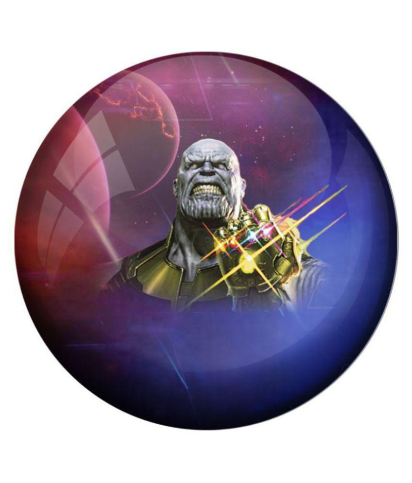 One Size Multi-Colour Avengers Infinity War Badges 5 Pack
