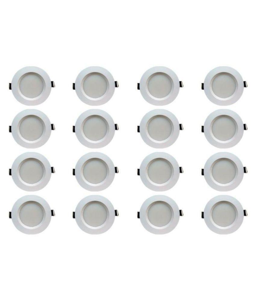 Bene 5W Round Ceiling Light 10.5 cms. - Pack of 16