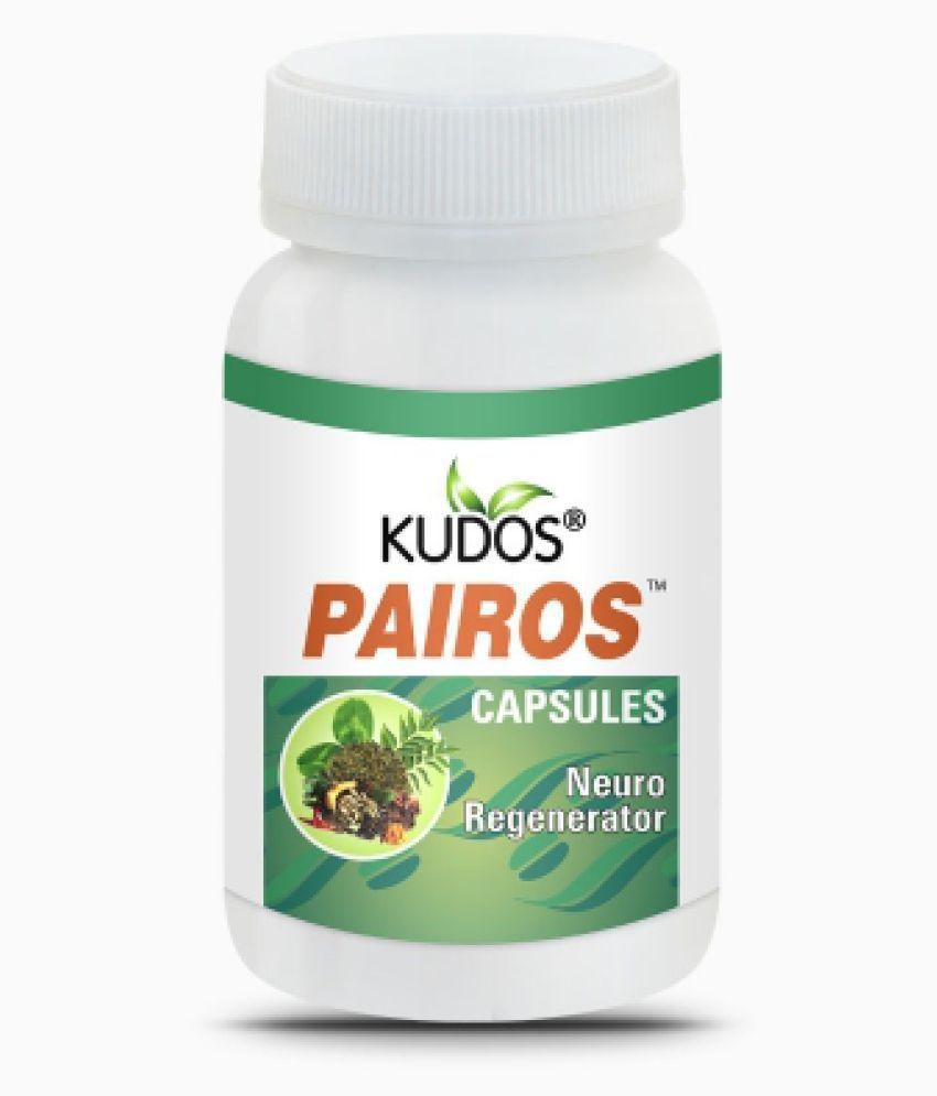 Kudos Ayurveda Pairos for Neuro Regenerator Capsule 30 gm