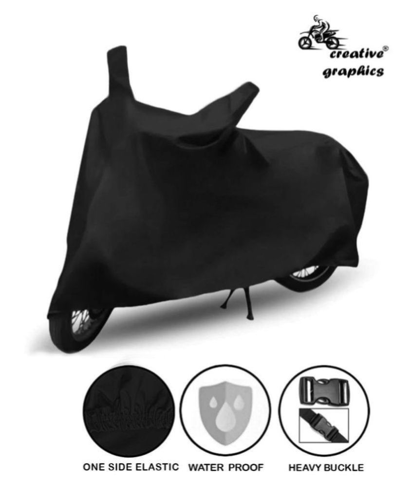 Creative Graphics Waterproof Bike Body Cover for TVS Apache RTR 180