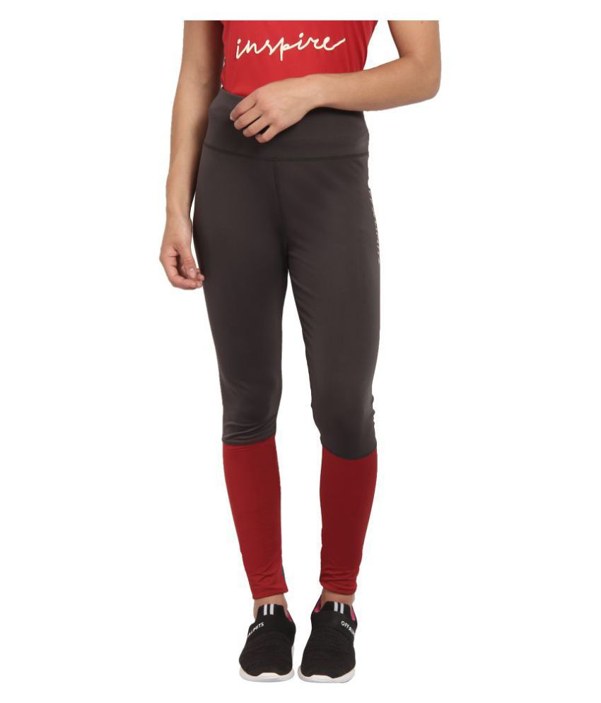 OFF LIMITS Polyester Tights - Grey