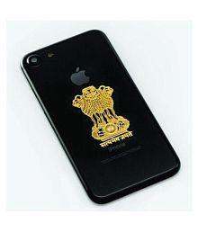 Ajanta Satyamev Jayate 1 PCS FREE SILVER 24K Gold Plating Popular People 3D Sticker ( 5 x 3 cms )