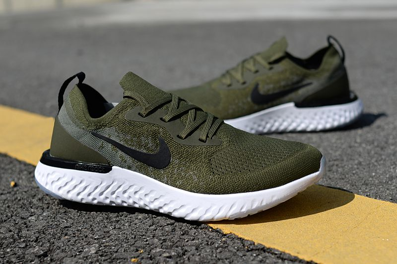 official photos 8ad8b e3417 Nike Epic React Flyknit Olive Running Shoes - Buy Nike Epic React Flyknit  Olive Running Shoes Online at Best Prices in India on Snapdeal