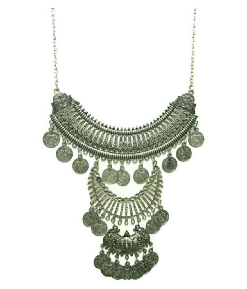 Renaissance Traders German Silver Silver Contemporary Traditional Antique Necklace