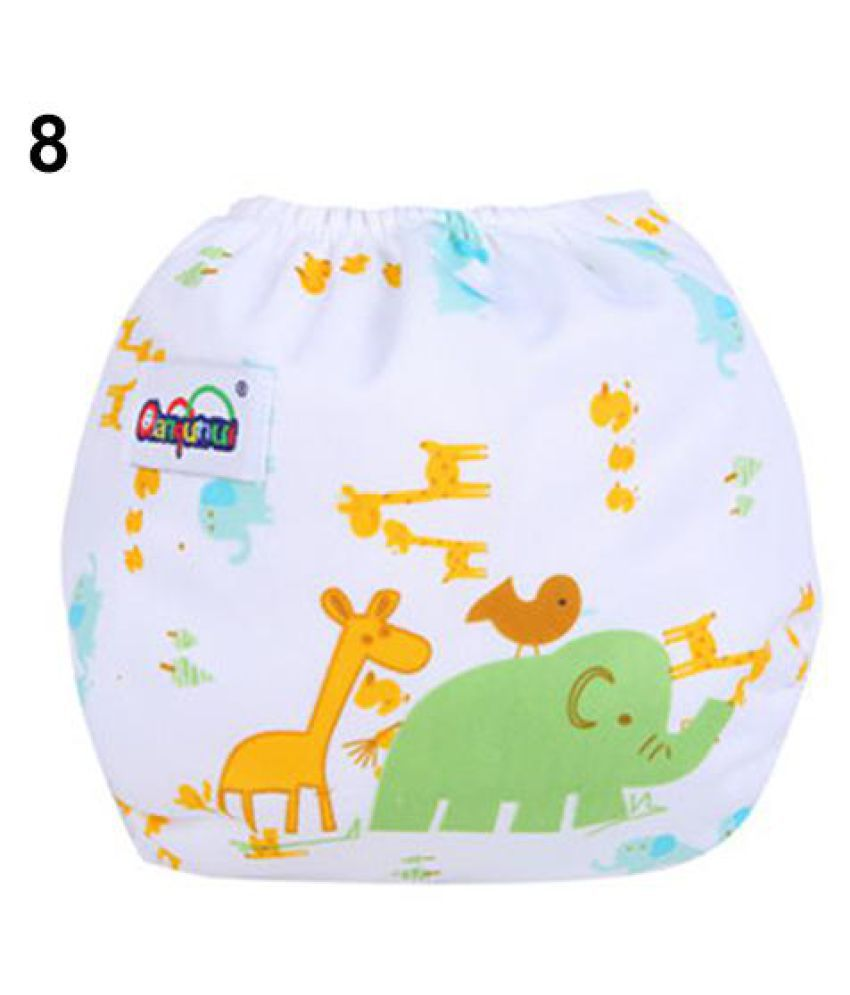 Baby Infant Reusable Washable Cloth Diaper Kids Nappy Cover Adjustable Diapers