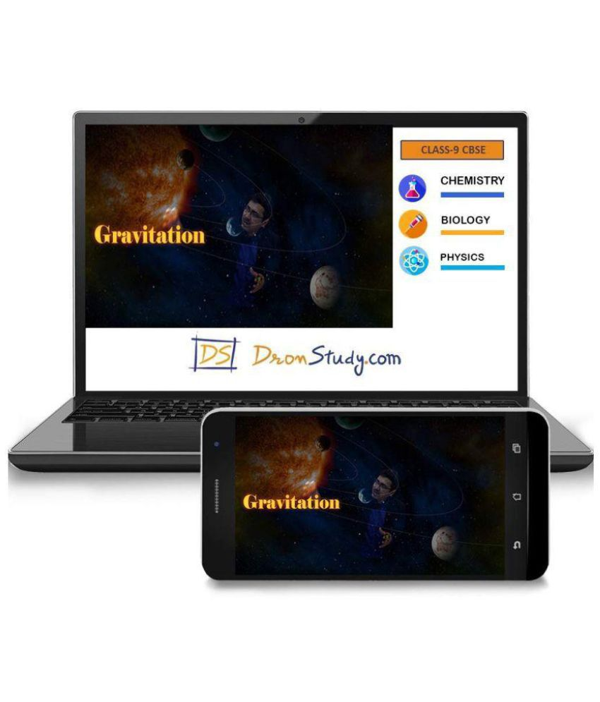 DronStudy CBSE Class 9 Science Video Lecture Course in Hindi Pen Drive