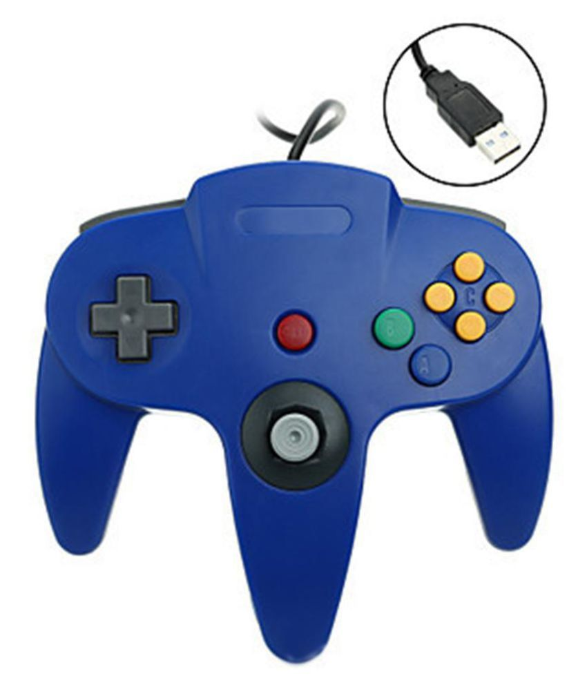 USB N64 Computer Controller PC Game Controller N64 Controller
