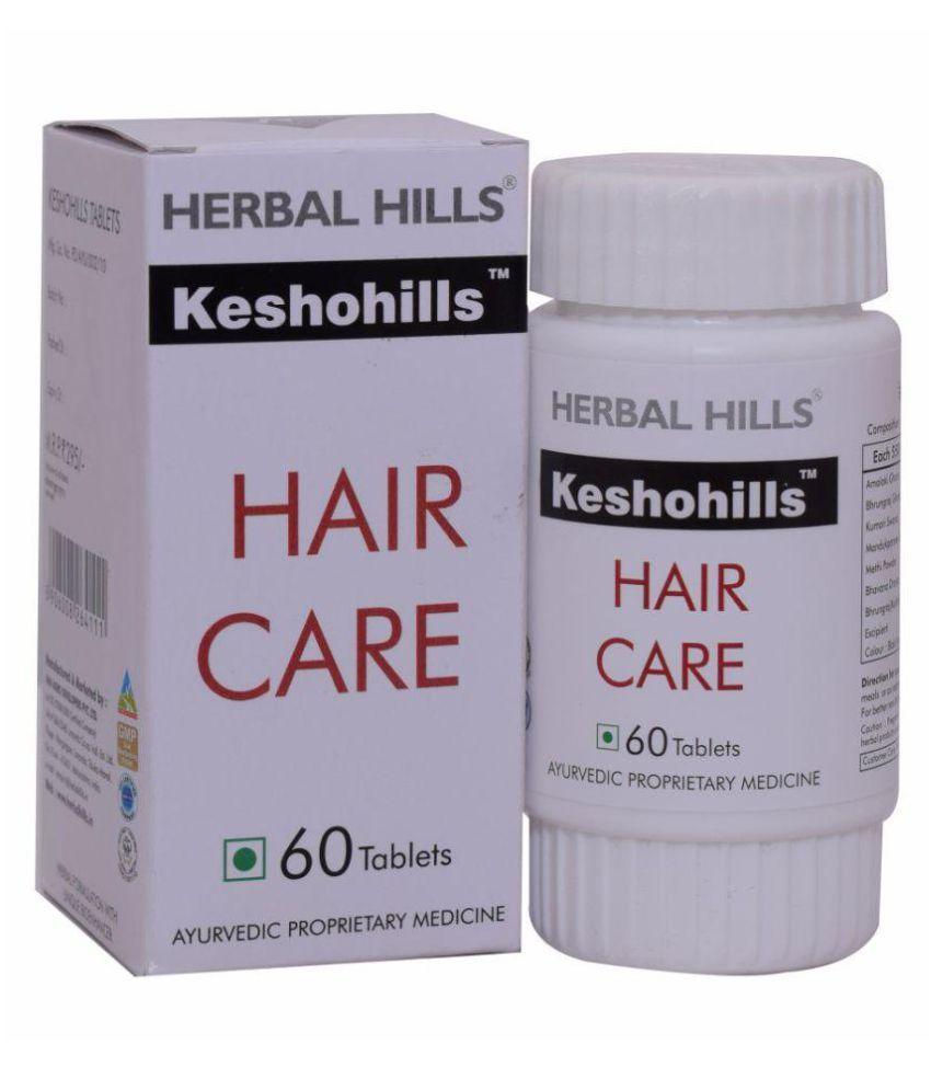 Herbal Hills Keshohills 60 Tablet 550 mg