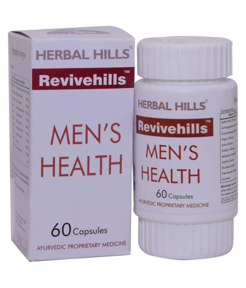 Herbal Hills Revivehills 60 Capsule 370 mg