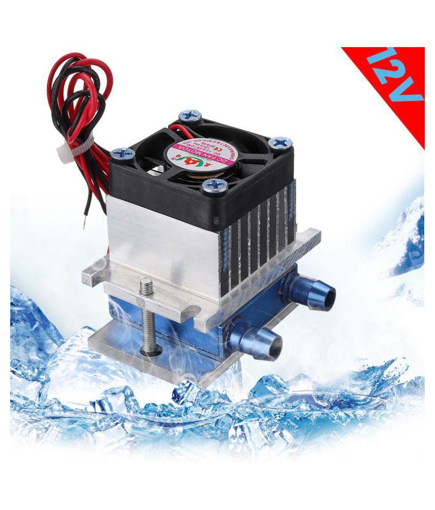 12V Thermoelectric Peltier Refrigeration Cooling Cooler Fan System Heatsink Kit