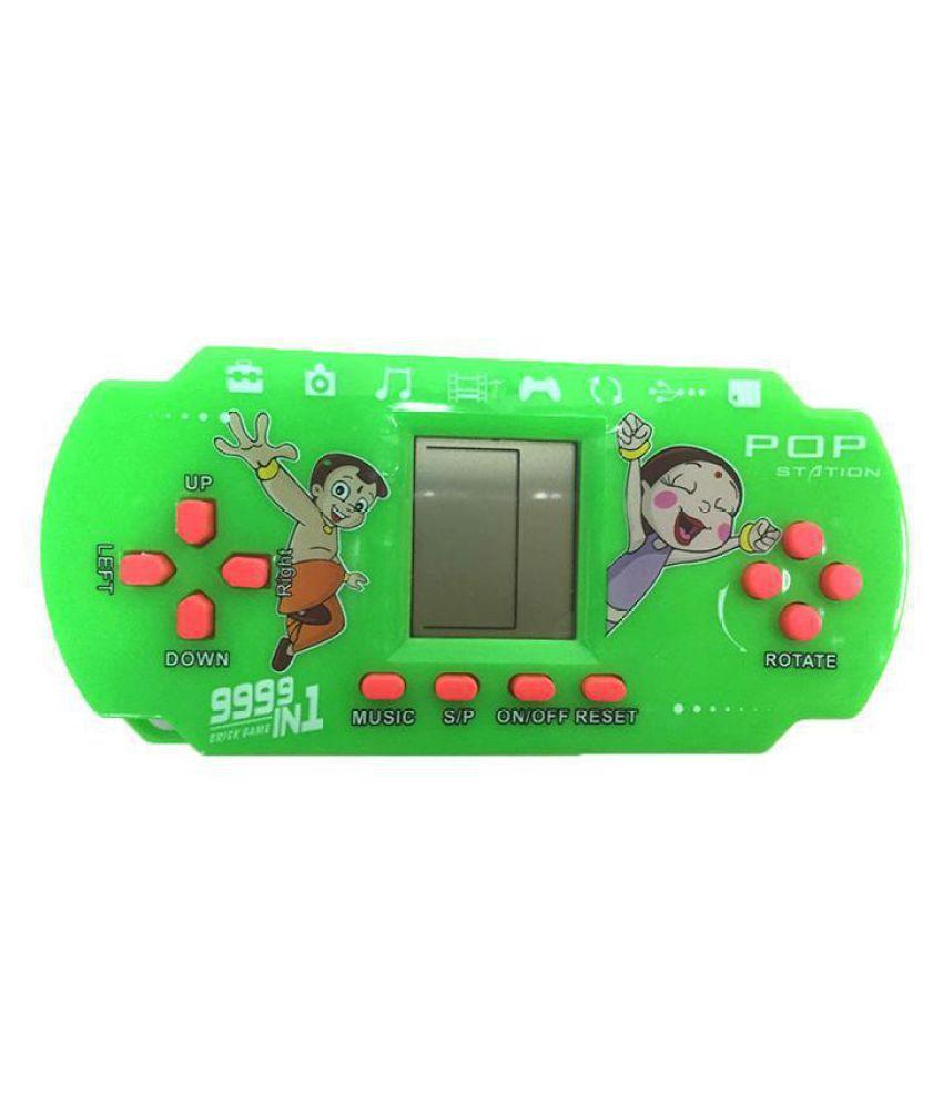 Portable Tetris Electronic Game Machine Children Puzzle Handheld Console