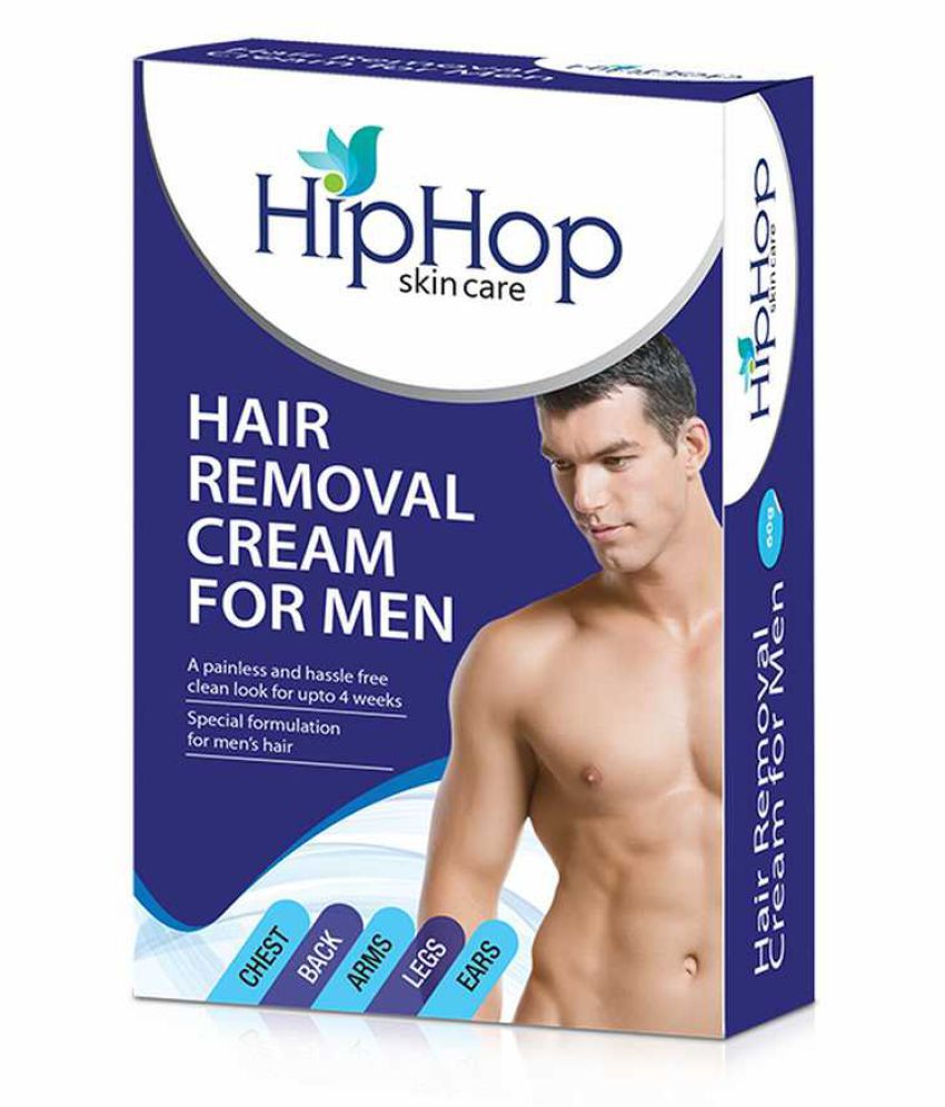 HipHop Skincare Hair Removal Cream 60 gm Pack of 2
