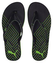 Puma Green Thong Flip Flop
