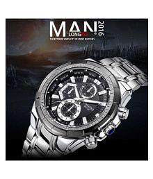 LONGBO Stylish Fashionable Stainless Steel Analog Men's Watch