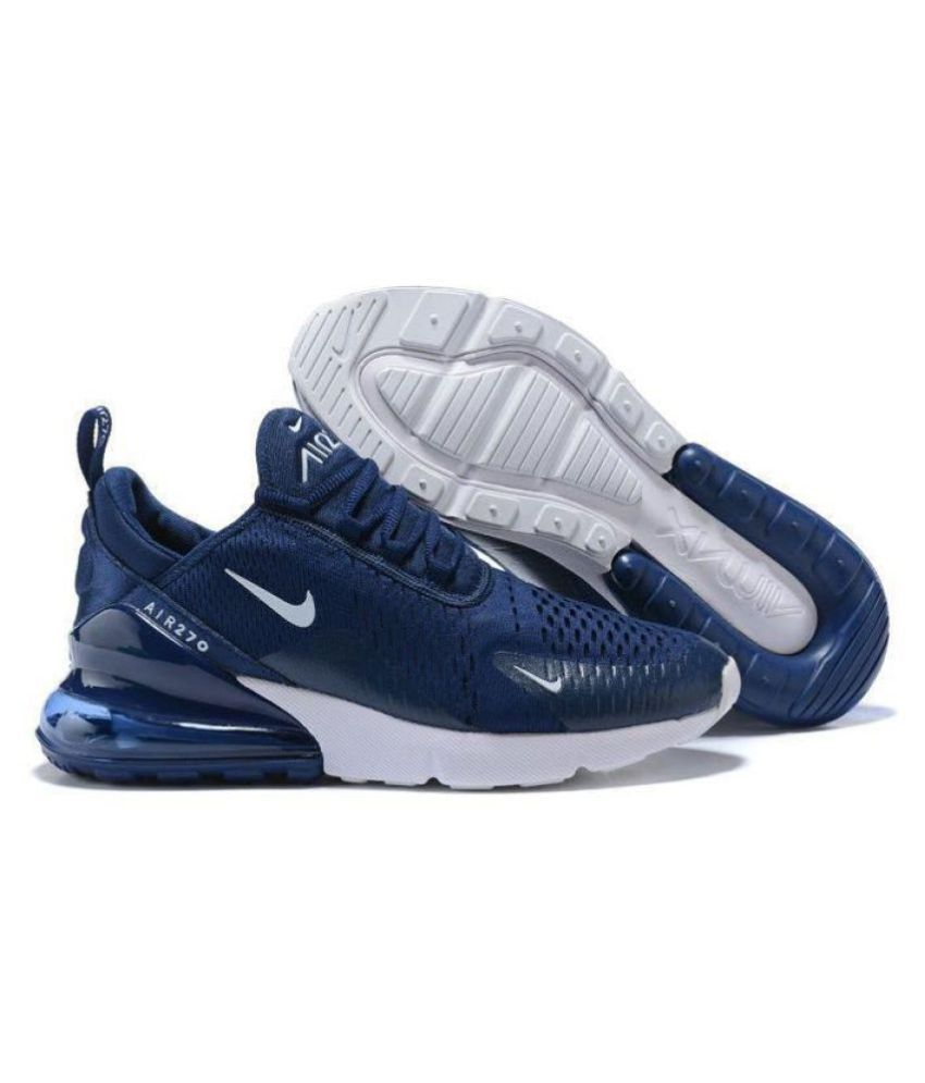 buy online 3ebb5 45d25 Nike 1 AIRMAX 27C Running Shoes Blue