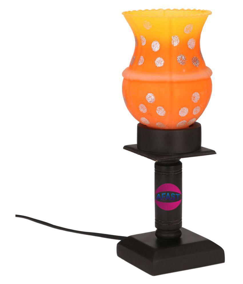 AFAST Orange LED Tea Light - Pack of 1