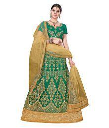 01ca75d8fd Green Lehenga: Buy Green Lehenga for Women Online at Low Prices in ...