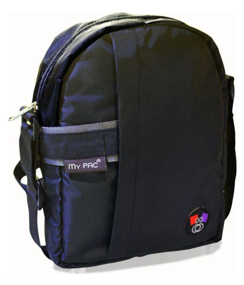 My Pac DB C11593-1 Black Polyester Casual Messenger Bag