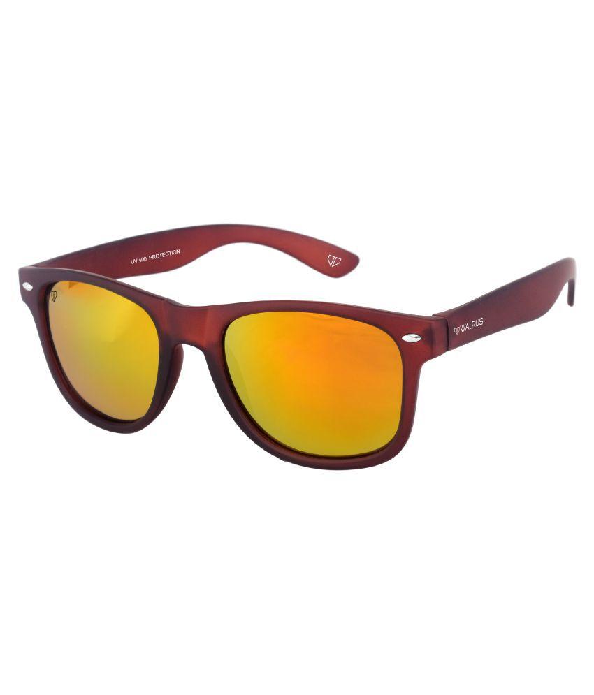 Walrus Golden Square Sunglasses ( WS-URB-230909 )