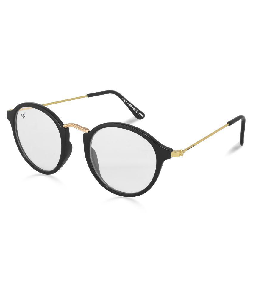 Walrus - White Round Sunglasses ( WS-GFY-010206 )