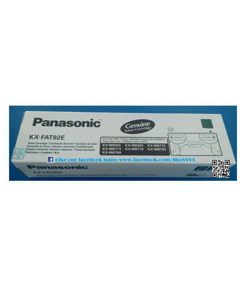 Panasonic Black Toner Cartridge KX-FAT92E