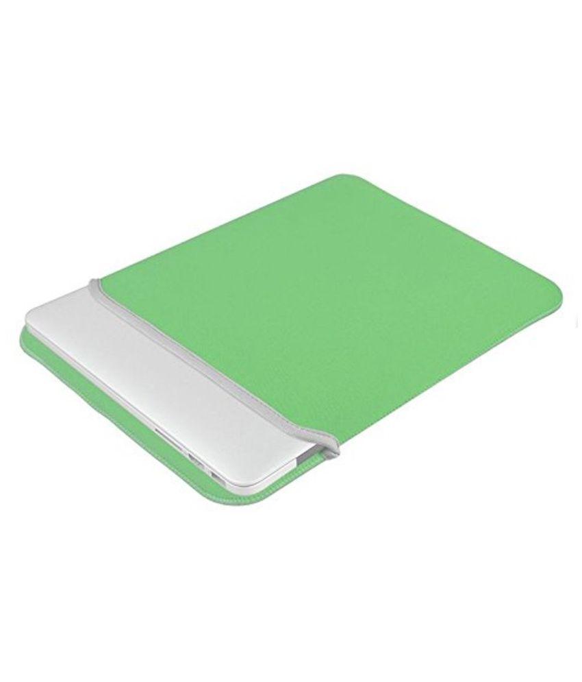 Frndzmart Green Laptop Sleeves
