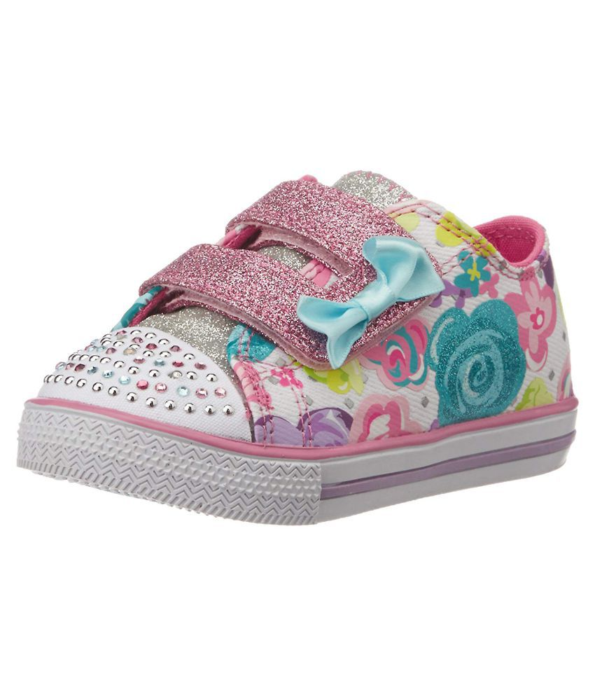 Girl's Chit Sneakers 6 Eu7 Ukindia39 Skechers Chat Us White Multi And jqSVGzMULp