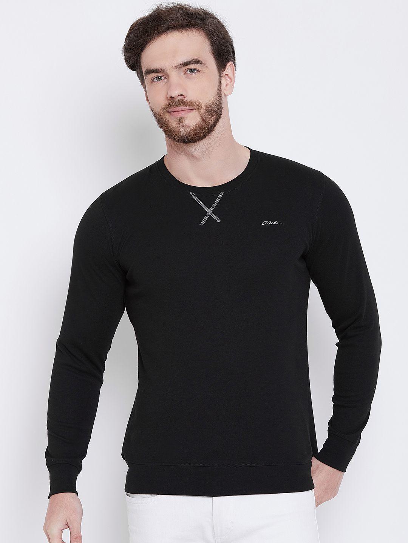Adobe Black Full Sleeve T-Shirt Pack of 1