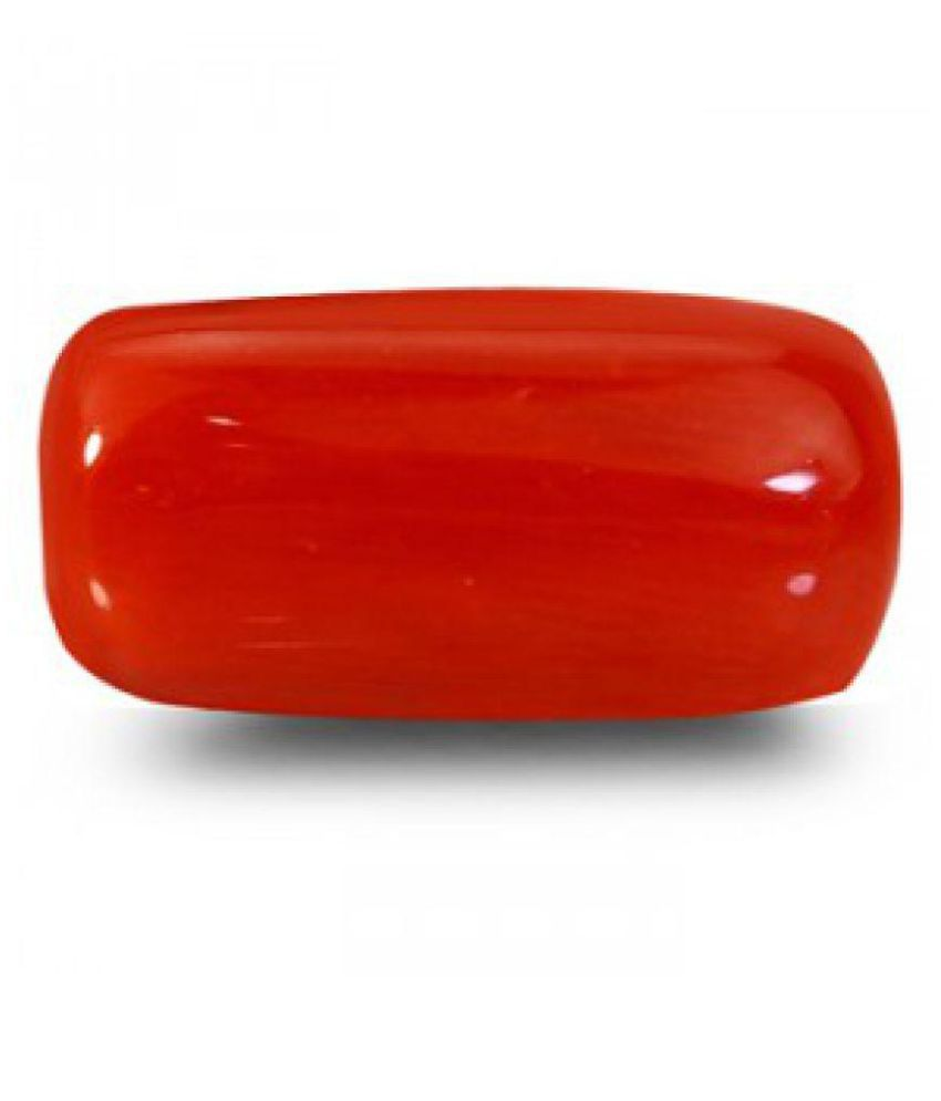 Red Coral - 6.36 carats Natural Agate Gemstone