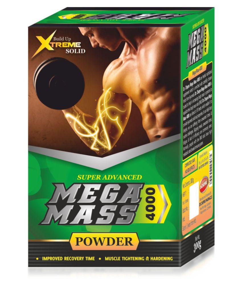 Ayurveda Cure Mega Mass 4000, 300 gm Unflavoured
