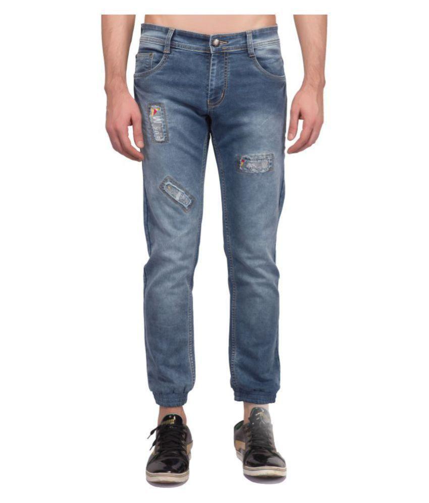 mrstag Blue Regular Fit Jeans