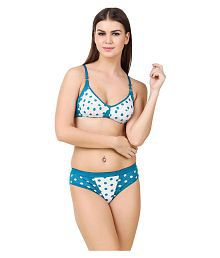 HOBBY LINGERIE Cotton Bra and Panty Set