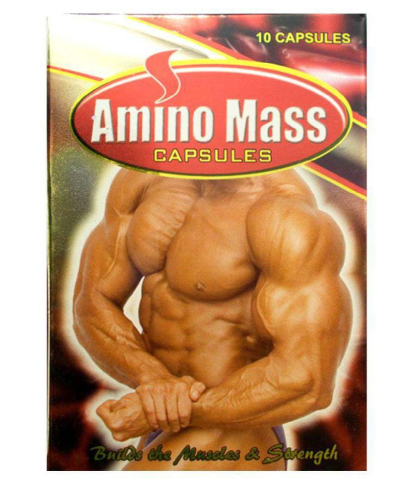 Ayurveda Cure Amino Mass 10 no.s Mass Gainer Tablets Pack of 3