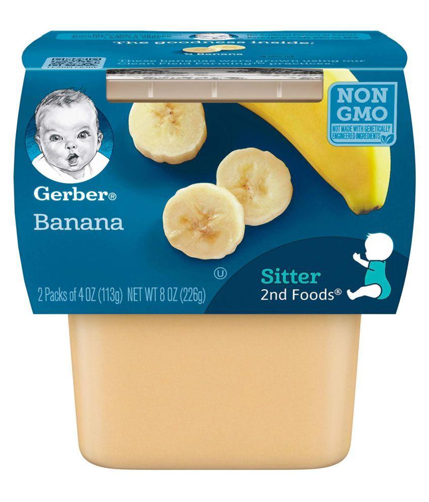 Gerber Bananas Snack Foods for Under 6 Months ( 678 gm ) Pack of 3