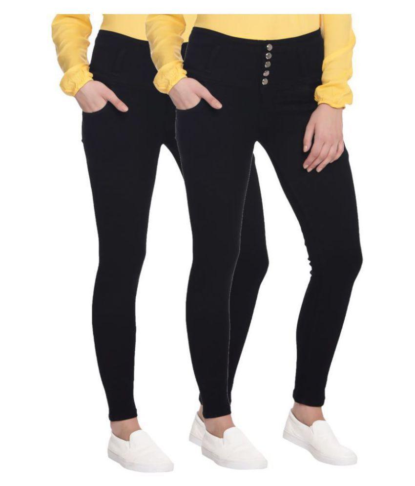 Broadstar Denim Jeans - Black